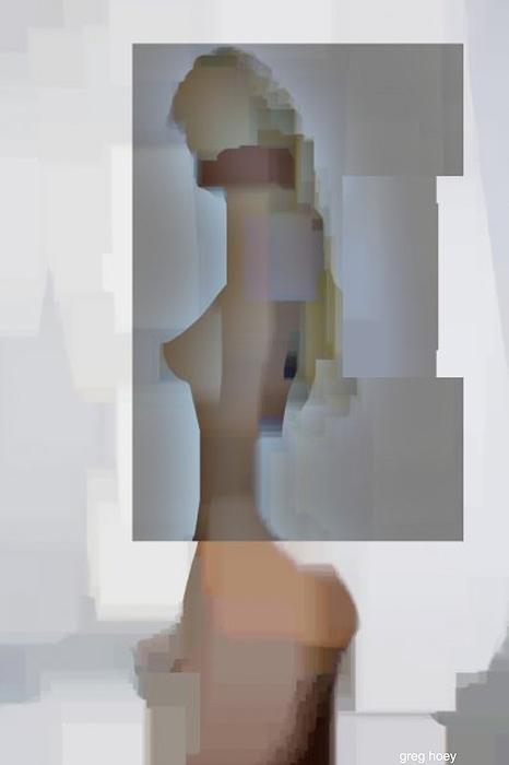 Girl Digital Art - Pretty Girl by Greg Hoey