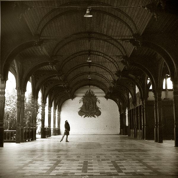 Dance Photograph - Prewar Dance Hall In Szczawno Zdroj by Katarzyna Horwat