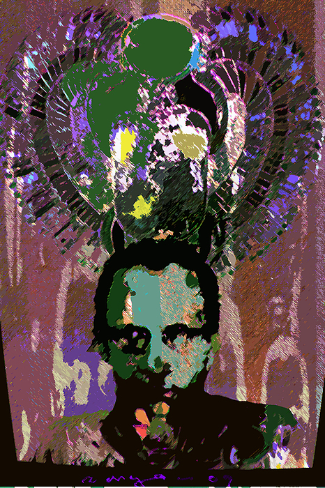 Self Portrait Drawing - Prince Of The Nile 2 by Noredin Morgan