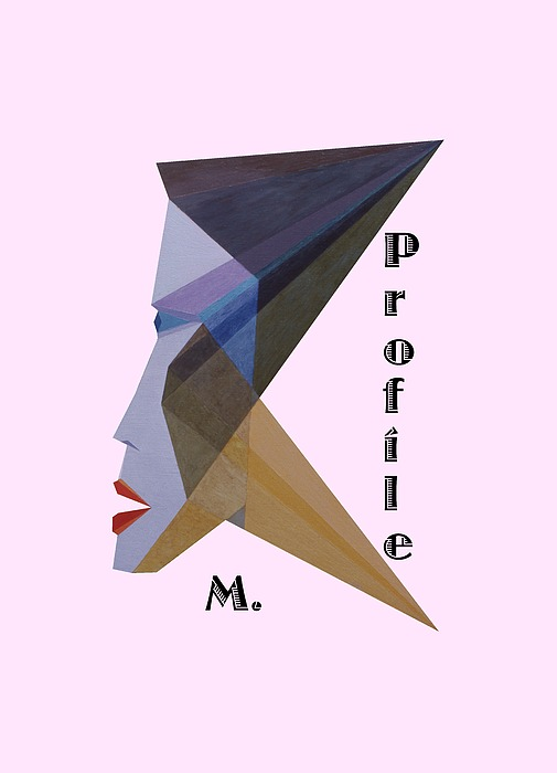 Painting Painting - Profile M. Text by Michael Bellon