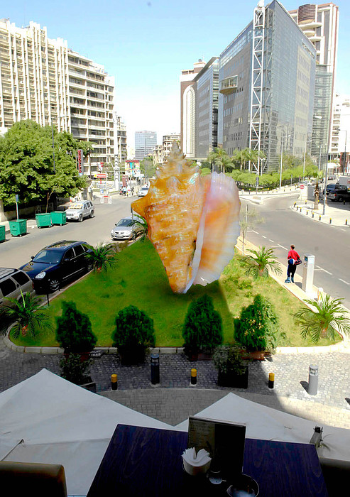 Lebanon Sculpture - Project Lebanon by Arlin Jules