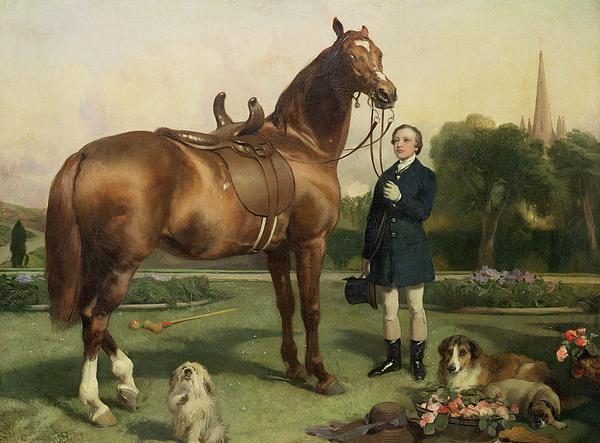 Prosperity Painting - Prosperity by Sir Edwin Landseer