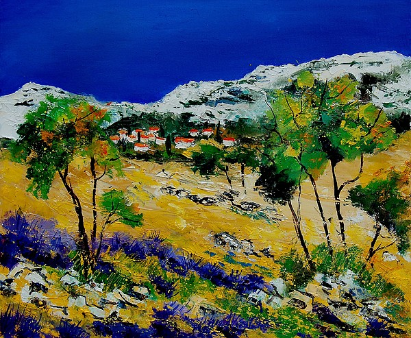 Provence Painting - Provence 569060 by Pol Ledent