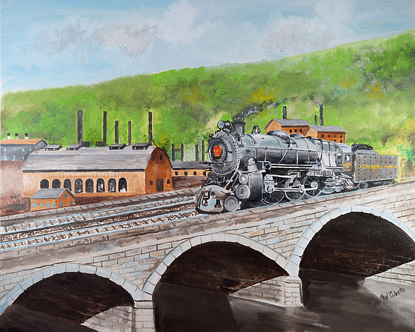 printing pictures from iphone prr k4 crossing bridge johnstown pa painting by paul 15909