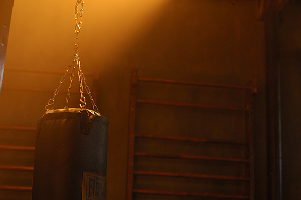 Punching Bag Photograph - Punching Bag In The Light by Micah May
