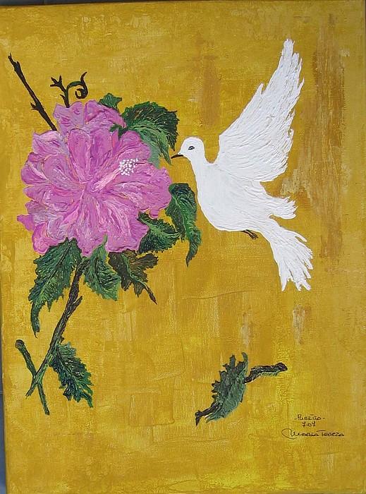 Puritia Painting by Maria tereza Braz