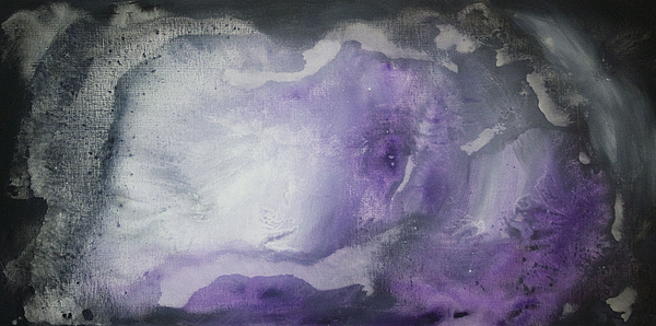 Painting Painting - Purple Explosion By Madart by Megan Duncanson