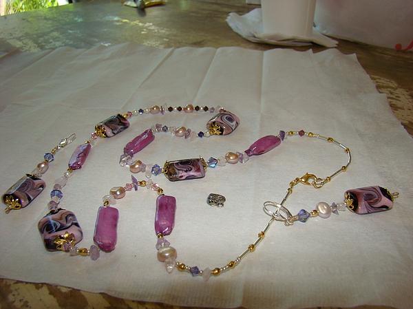 Jewelry Jewelry - Purple Fantasy by Deborah Lynch