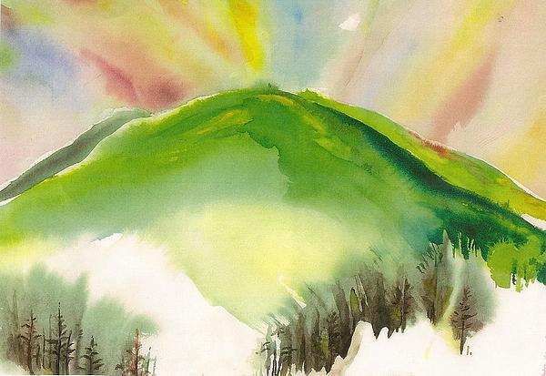 Puu Painting - Puu O Waimea by Wendy Wiese