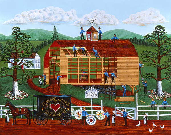Wysocki Painting - Quakers Acres by Joseph Holodook