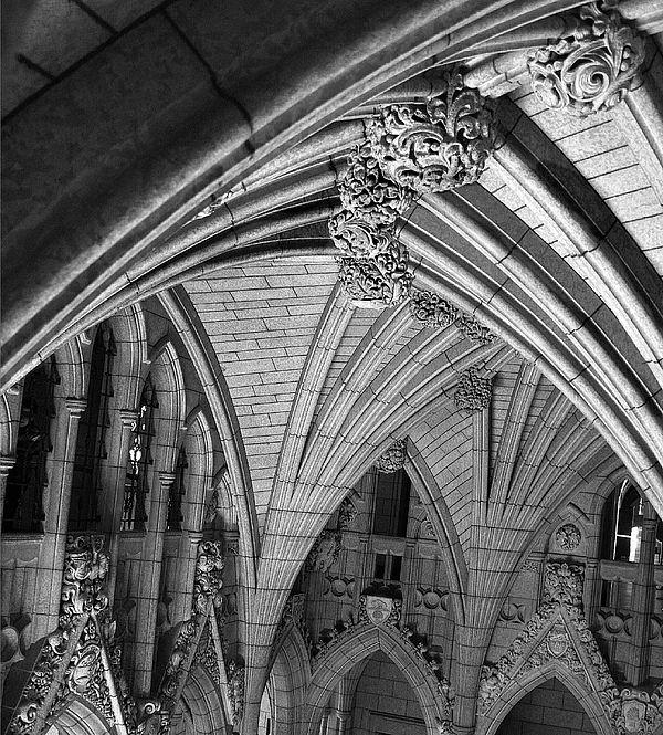 Parliment Photograph - Quebec Parliament Building by Terry Burgess