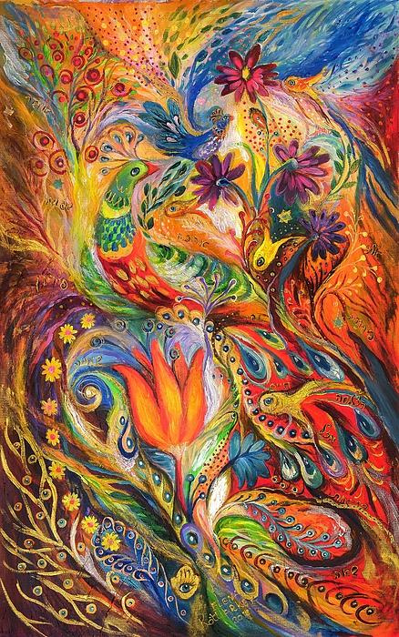 Original Painting - Queen Lillie by Elena Kotliarker