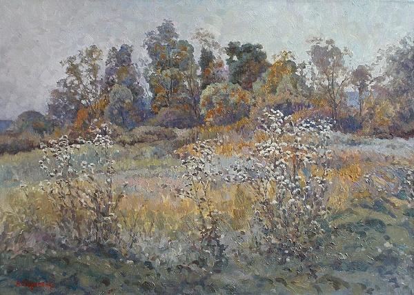Landscape Painting - Quiet Evening by Andrey Soldatenko