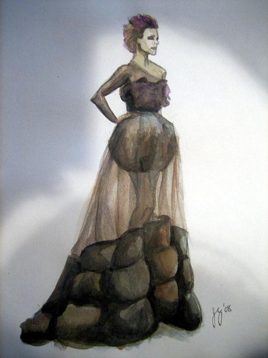 Woman Painting - Rachel Mcadams - Vogue by Jennifer Zhao