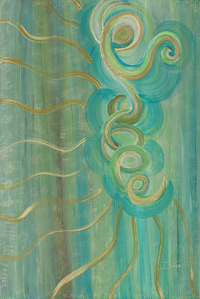 Abstract Painting - Radiance by Ione Citrin