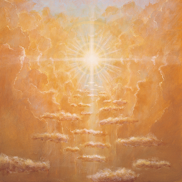 Christ Painting - Radiance  by Simon Cook