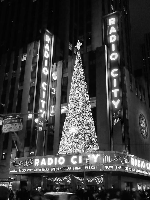 Radio Glow Black And White Photograph by Francis Flatley