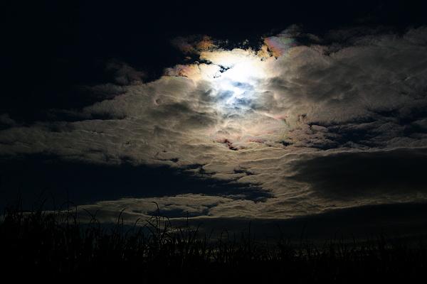 Clouds Photograph - Rainbow Sun by Joshua Tillery