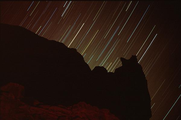 Landscape Photograph - Raining Stars by Dave Hampton Photography