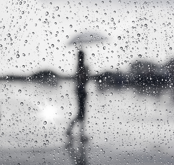 Abstract Photograph - Rainy Day by Setsiri Silapasuwanchai