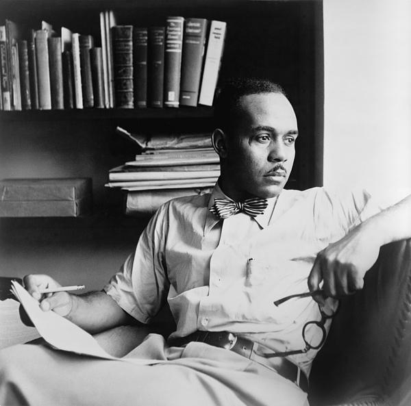 History Photograph - Ralph Ellison 1914-1994, Author by Everett