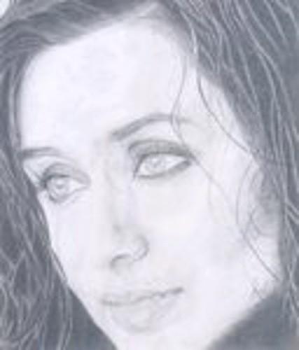 Celebrity Drawing - Rani Mukerjee by Smriti Jaiswal