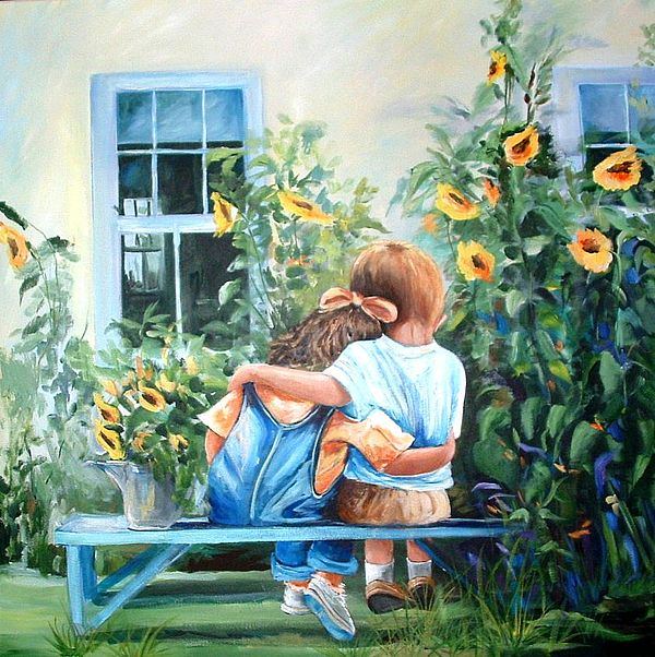 Rare Moment Painting by Yvonne Dagger