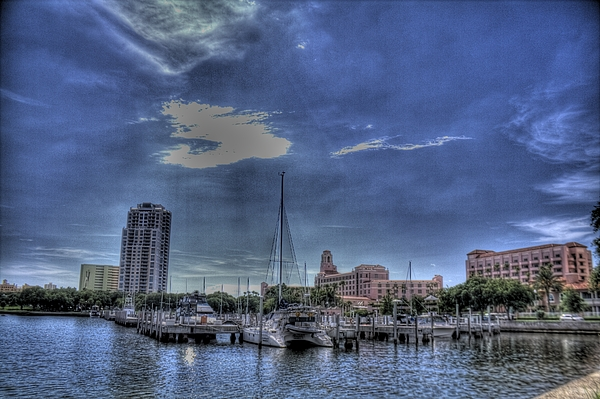 Hdr Photograph - Ray Port by Larry Underwood