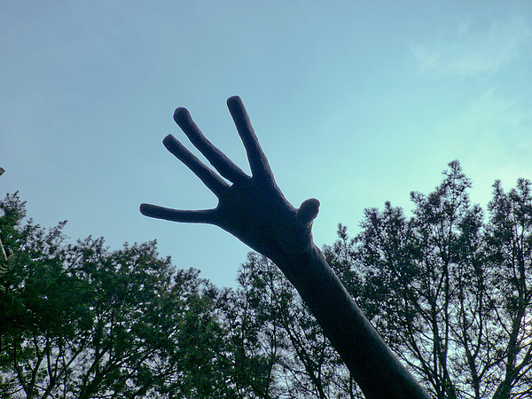 Sky Photograph - Reach For Help by Torchiam Sun