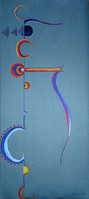 Abstract Drawing - Reason 7 by Jaye Beaton