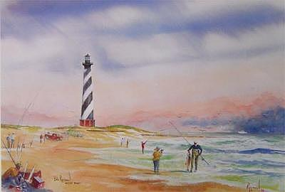 Recollections Of Cape Hatteras Painting by Bob Pittman