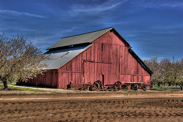 Barn Photograph - Red Barn by Jim And Emily Bush