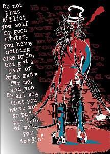 Red Digital Art by Caroline Hilber