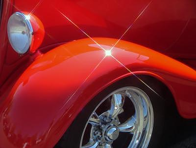 Red Photograph - Red Fender by Jim Murdock
