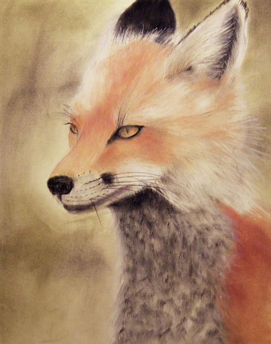 Fox Painting - Red Fox by Joanne Giesbrecht
