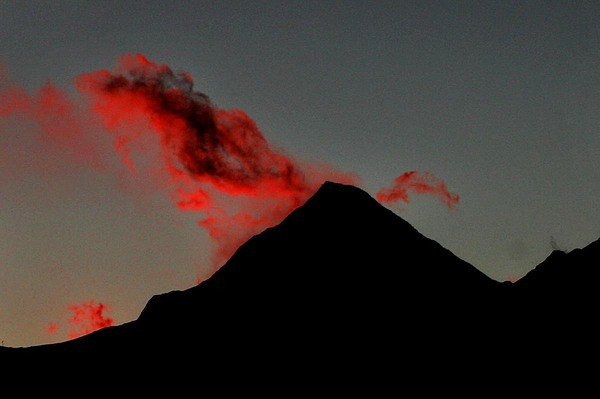 Annapurna Photograph - Red Lable by Shyamal Chakrovorty