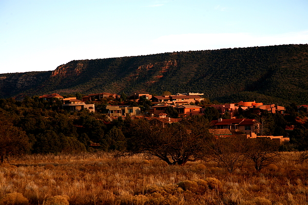 Landscape Photograph - Red Rock Village by Jennilyn Benedicto