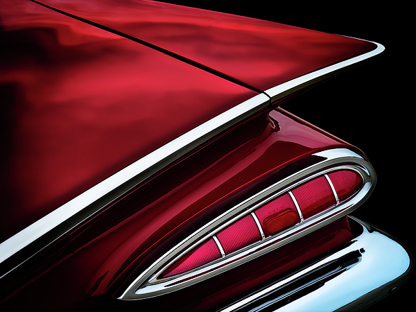 Vintage Digital Art - Red Tail Impala Vintage 59 by Douglas Pittman