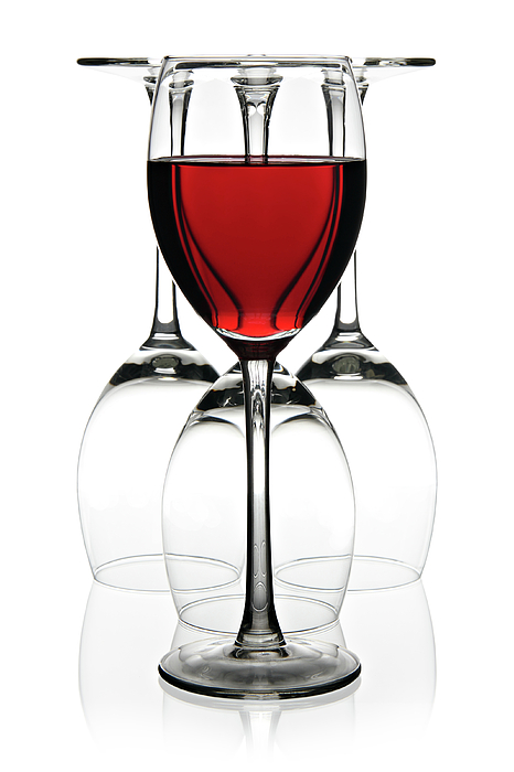 Wine Photograph - Red Wine by Pics For Merch