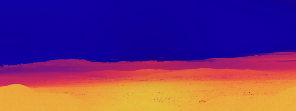 Landscape Photograph - Red Yellow Blue by Gilbert Artiaga