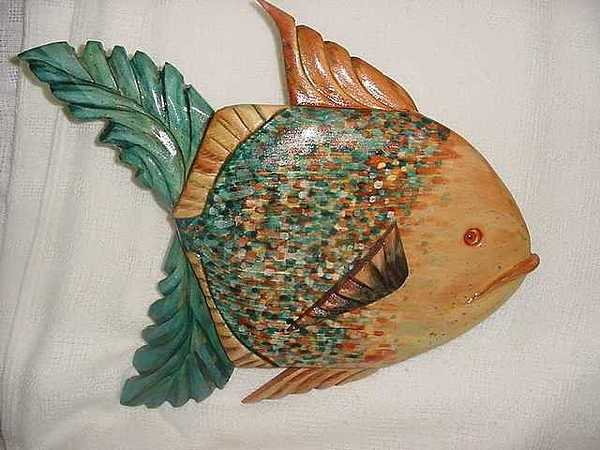 Redbay Fish Sold Painting by Lisa Ruggiero