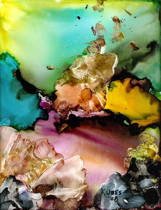Reef Mixed Media - Reef 3 by Susan Kubes