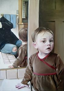 Reflecting Painting by Brooke Walker-Knoblich
