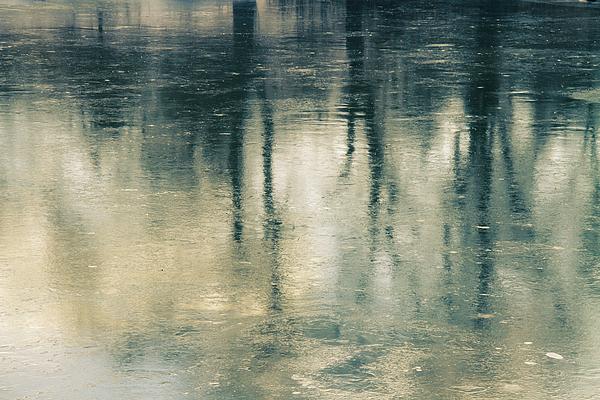 Water Photograph - Reflection by Ken Yan