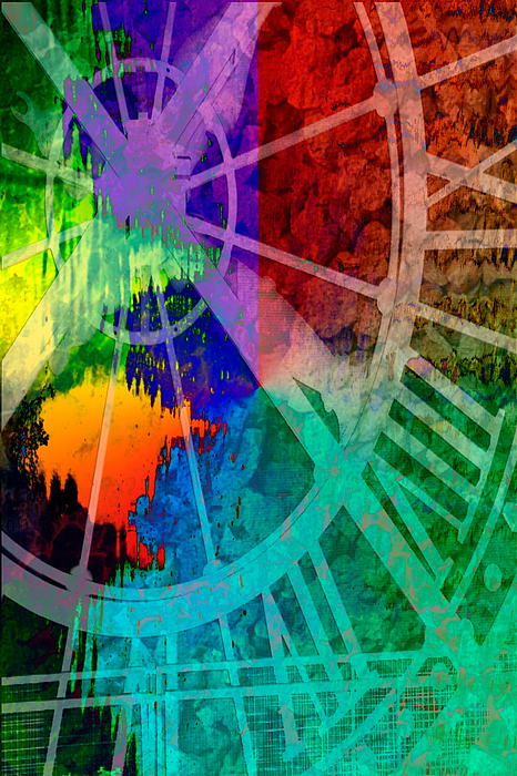 Abstract Digital Art - Reflection Of Time by Brian Roscorla