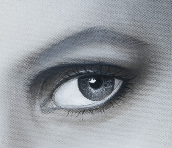 Eye Painting - Reflections Eye by Joshua South