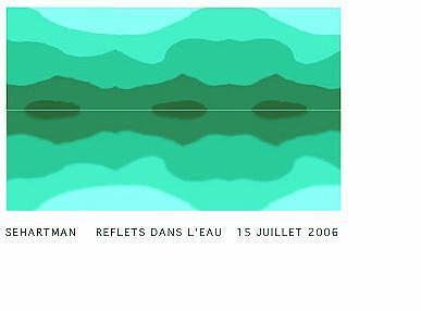 Reflets Dans Leau Digital Art by Sue Hartman