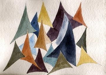 Sails Painting - Regatta by Jane Croteau