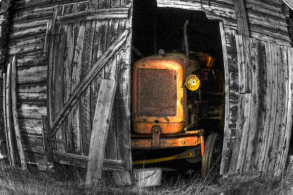 Vehicle Photograph - Relic From Past Times by Heiko Koehrer-Wagner