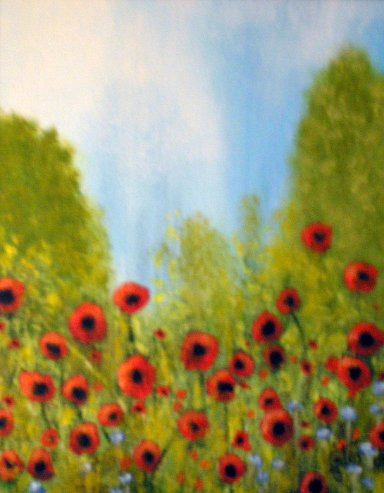 Remember Day Painting by Lise-marielle Fortin